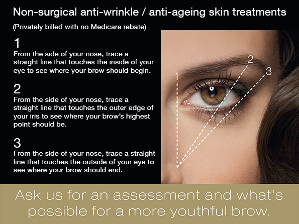 Non-surgical anti-wrinkle / anti-ageing skin treatment / Dermal Fillers