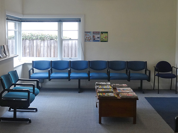 Camberwell doctor waiting room